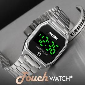 SKMEI Jam Tangan Digital Pria LED Touch Screen - 1679 - Black - 2
