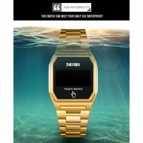 SKMEI Jam Tangan Digital Pria LED Touch Screen - 1679 - Black - 8