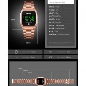 SKMEI Jam Tangan Digital Pria LED Touch Screen - 1679 - Black - 9