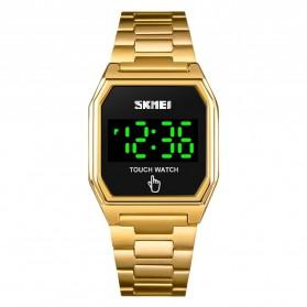 SKMEI Jam Tangan Digital Pria LED Touch Screen - 1679 - Golden