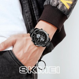 SKMEI Jam Tangan Analog Digital Pria - 1670 - Black/Black - 2