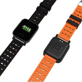 SKMEI Jam Tangan Olahraga Heartrate Smartwatch Bluetooth - A6 - Black - 3