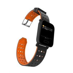 SKMEI Jam Tangan Olahraga Heartrate Smartwatch Bluetooth - A6 - Black - 4