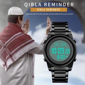 SKMEI Jam Tangan Digital Pria Muslim Qibla - 1734 - Silver - 5