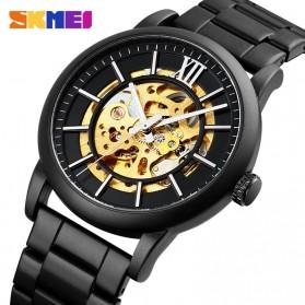 SKMEI Jam Tangan Mechanical Pria Automatic Movement - 9242 - Black - 3