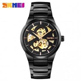 SKMEI Jam Tangan Mechanical Pria Automatic Movement - 9243 - Black