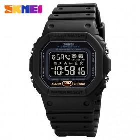 SKMEI Jam Tangan Smartwatch Pria Bluetooth Pedometer - 1743 - Black
