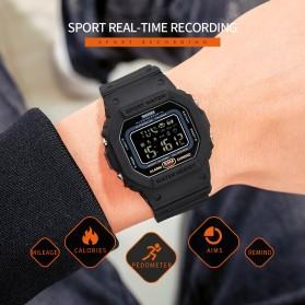 SKMEI Jam Tangan Smartwatch Pria Bluetooth Pedometer - 1743 - Black - 3