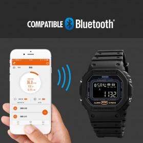 SKMEI Jam Tangan Smartwatch Pria Bluetooth Pedometer - 1743 - Black - 4
