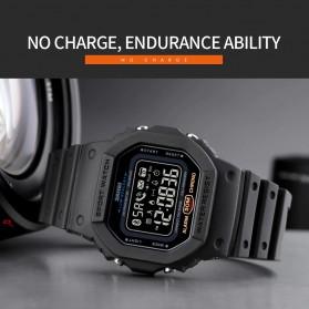 SKMEI Jam Tangan Smartwatch Pria Bluetooth Pedometer - 1743 - Black - 5