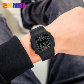 SKMEI Jam Tangan Smartwatch Pria Bluetooth Pedometer - 1743 - Black - 6