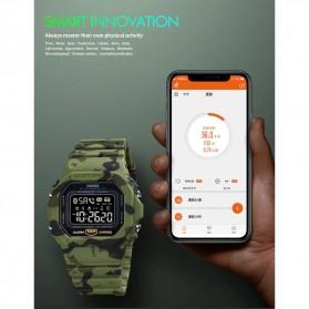 SKMEI Jam Tangan Smartwatch Pria Bluetooth Pedometer - 1743 - Black - 7