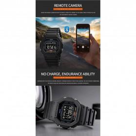 SKMEI Jam Tangan Smartwatch Pria Bluetooth Pedometer - 1743 - Black - 9