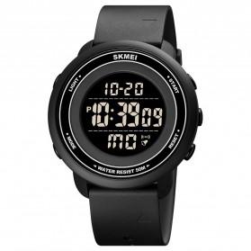 SKMEI Jam Tangan Digital Pria Sport - 1736 - Black/Black