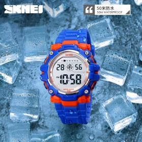 SKMEI Kids Jam Tangan Digital Anak - 1616 - Blue - 4