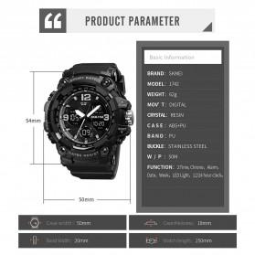 SKMEI Jam Tangan Digital Pria - 1742 - Black - 6