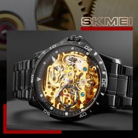 SKMEI Jam Tangan Mechanical Pria Automatic Movement - 9230 - Black - 2