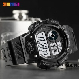 SKMEI Jam Tangan Digital Pria - 1723 - Black - 5