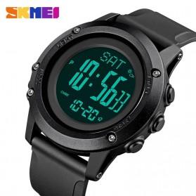 SKMEI Jam Tangan Digital Pria Pedometer Compass - 1793 - Black - 2