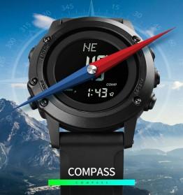 SKMEI Jam Tangan Digital Pria Pedometer Compass - 1793 - Black - 3