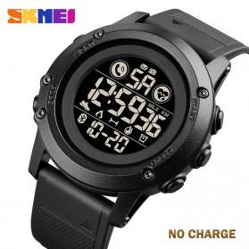 SKMEI Jam Tangan Smartwatch Pria Bluetooth Pedometer Heartrate - 1746 - Black - 2