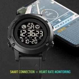 SKMEI Jam Tangan Smartwatch Pria Bluetooth Pedometer Heartrate - 1746 - Black - 3