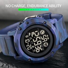 SKMEI Jam Tangan Smartwatch Pria Bluetooth Pedometer Heartrate - 1746 - Black - 5