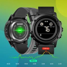 SKMEI Jam Tangan Smartwatch Pria Bluetooth Pedometer Heartrate - 1746 - Black - 6
