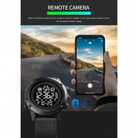 SKMEI Jam Tangan Smartwatch Pria Bluetooth Pedometer Heartrate - 1746 - Black - 9