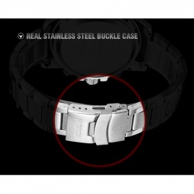 Weide Japan Quartz Silicone Strap Men LED Sports Watch 30M Water Resistance - WH1104 - White - 9