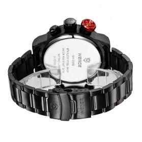 Weide Japan Quartz Miyota Men LED Sports Watch 30M - WH2309 - Black/Red - 5