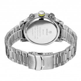 Weide Japan Quartz Stainless Strap Men Sports Watch 30M Water Resistance - WH3311 - Yellow - 6
