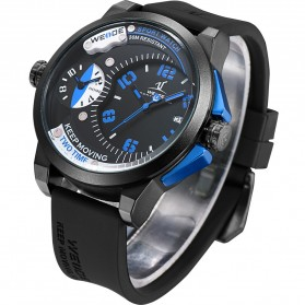 Weide Universe Series Dual Time Zone 30M Water Resistance - UV1501 - Blue - 3