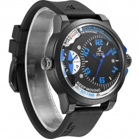 Weide Universe Series Dual Time Zone 30M Water Resistance - UV1501 - Blue - 4