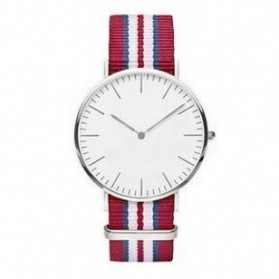 Jam Tangan Fashion Strap Berwarna (OEM) - Red