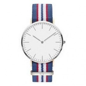 Jam Tangan Fashion Strap Berwarna (OEM) - Blue