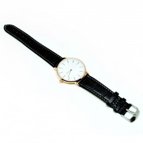 Jam Tangan Fashion Strap Crocodile - Black