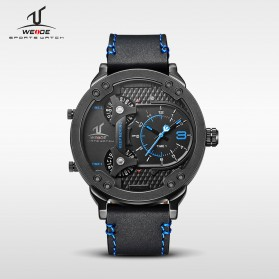 Weide Universe Series Three Time Zone 30M Water Resistance - UV1506 - Black/Blue