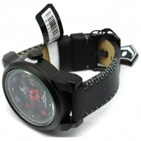 Weide Jam Tangan Analog Strap Kulit - UV1509 - Red - 3
