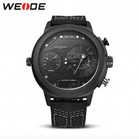 Weide Jam Tangan Analog - WH6405 - Black/Silver