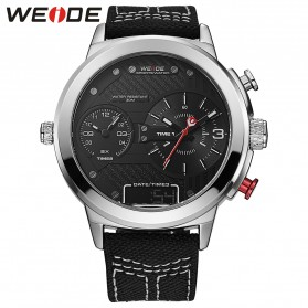 Weide Jam Tangan Analog - WH6405 - White/Black