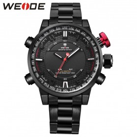 Weide Jam Tangan Analog - WH6402 - Black White
