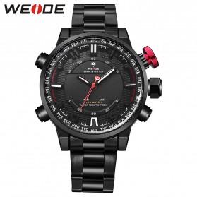 Weide Jam Tangan Analog - WH6402 - Black White