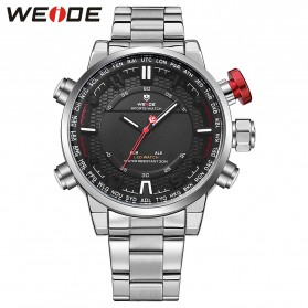 Weide Jam Tangan Analog - WH6402 - White/Black