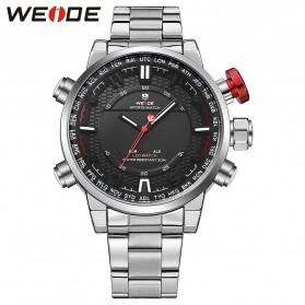 Weide Jam Tangan Analog - WH6402 - White/Black