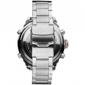 Weide Jam Tangan Analog Strap Stainless Steel - WH6303 - Gray Silver - 6