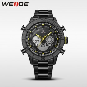 Weide Jam Tangan Digital Analog - WH6308 - Black/Yellow