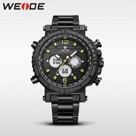 Weide Jam Tangan Digital Analog - WH6305 - Black/Yellow