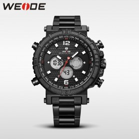 Weide Jam Tangan Digital Analog - WH6305 - Black White
