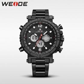 Weide Jam Tangan Digital Analog - WH6305 - Black White